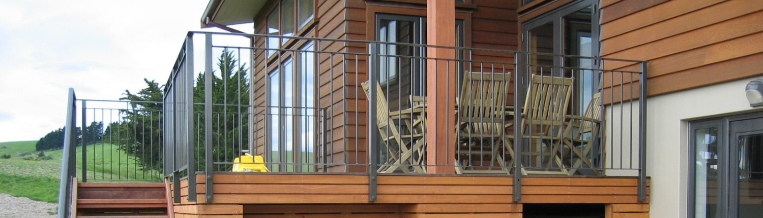 Residential Glass balustrade design