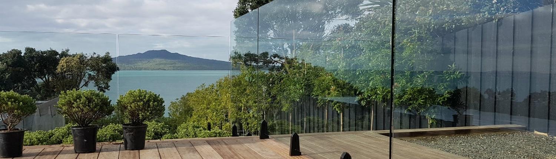 Commercial Glass balustrade design
