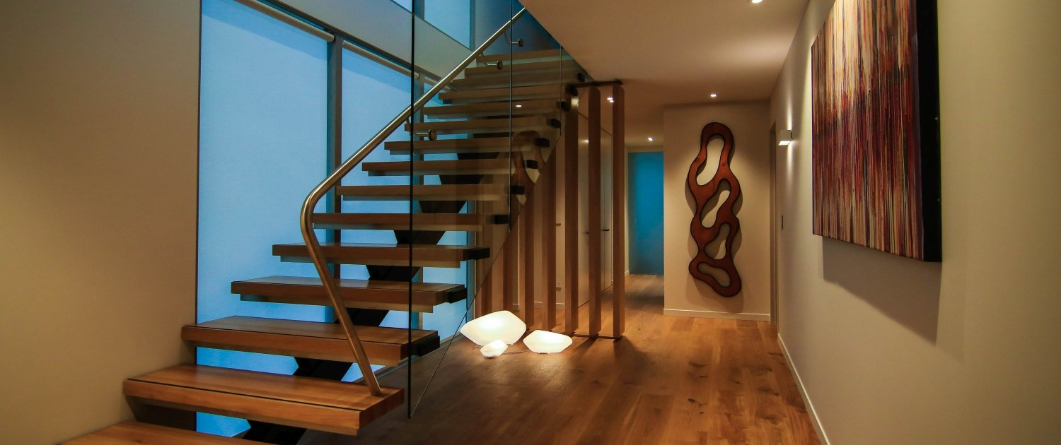 Staircase example of Division Architectural Engineering