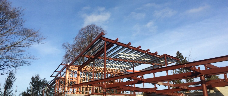 steel fabrication christchurch building frame