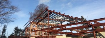 Work by one of Christchurch's structural engineer fabrication companies